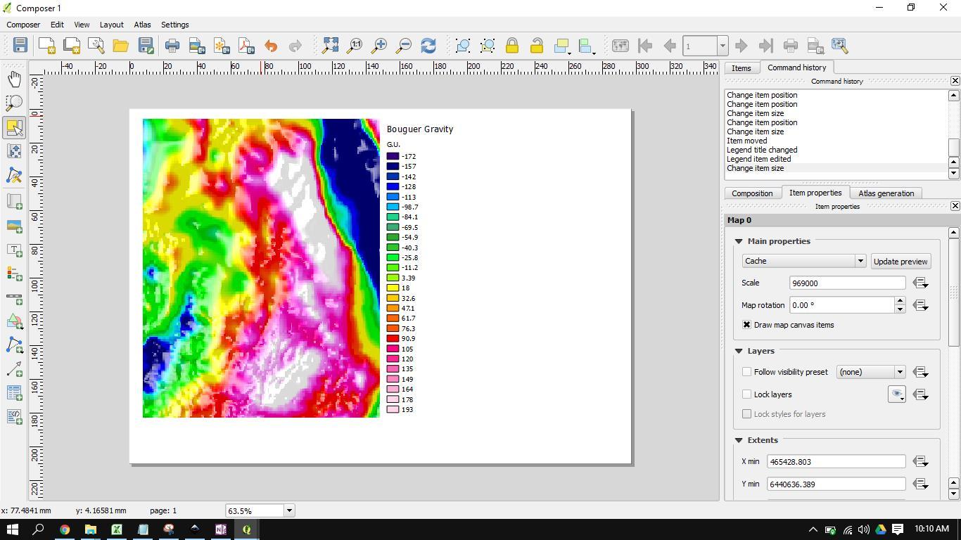 Imaging geophysical data in QGIS2threejs – Geokincern
